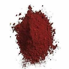 Rojo, rojo ladrillo, tinta, color, pigmento, 100g óxido de hierro