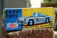 Corgi Toys Mercedes Benz 300SL Open Roadster Reproduction Box Number 303S