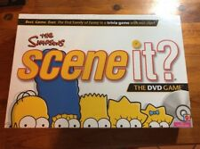 Scene It: The Simpsons, DVD board game, Brand New & Sealed