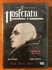 Nosferatu: The Vampyre (DVD, 2002, 2-Disc Set) - Herzog, Kinski, Adjani