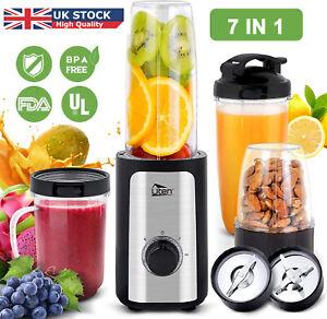 7IN1 Multi Blender Food Processor 220W Smoothie Milkshake Maker Juicer Grinder