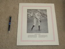 1929 - 1933 Blum's Baseball Bulletin George Toporcer Premium