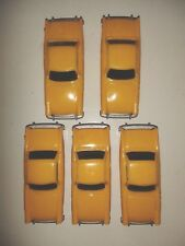 """*5 x """"NEW"""" HORNBY No 7 (YELLOW) SUNBEAM ALPINE CAR - 00 Scale Made in England*"""