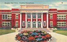 Postcard Kingston High School Pennsylvania
