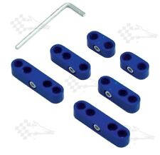 Blue Pro Style Ignition Lead / Wire Separators - Fits 8mm - 9mm Leads / Wires