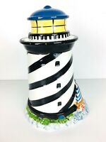 Vintage Glazed GKRO Lighthouse Sailboat Cookie Jar