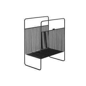 Zomo vs-Rack Studio Black/Black, Vinylaufbewahrung For Ca 50-75 Lps New