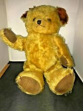 New ListingAntique Teddy Fully Jointed Brown Mohair 20In