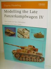 Osprey Modelling 38 - Modelling the Late Panzerkampfwagen IV - 80 Pages - New