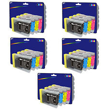 Choose Any 20 Compatible Printer Ink Cartridges for Brother LC1000 Range