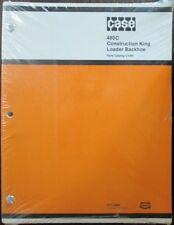 CASE Parts Catalogue Manual 480C Loader Backhoe ORIGINAL
