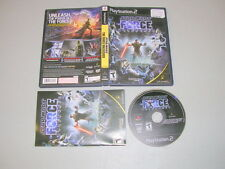 STAR WARS THE FORCE UNLEASHED  (Playstation 2 PS2) Complete