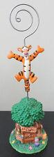 RARE Disney Tigger Winnie the Pooh Note Photo Holder Figure Figurine Statue