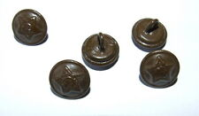 5 champ boutons bouton armée rouge soviet army MILITARY BUTTON urss ussr russia