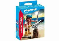 PLAYMOBIL 5378 Special Plus Pirata con Cañon, Pirates, History, NUEVO / NEW