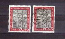 GERMANY 1951 20 + 5 Lubeck MLH & used