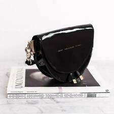 "CHYLAK Saddle Bag ""black patent leather"" SOLD OUT finished production"