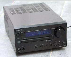 Onkyo CR-315 CD-Receiver ++ mit Fernbedienung ++ läuft ++ 20,5cm breit ++