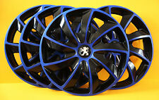 "15"" PEUGEOT 206,306,605 ,Partner,Expert...WHEEL TRIMS/COVERS,HUB CAPS,Quantity 4"
