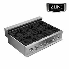"""Zline 36"""" Rangetop with 6 Gas Burners Stainless Steel Kitchen (Rt36)"""