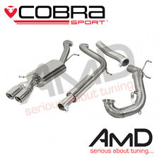 Cobra POLO GTI Turbo Back Exhaust Decat Resonated Stainless 2015 on 6C 1.8TSi