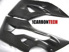 DUCATI PANIGALE 899 1199 CARBON FIBER LOWER BELLY PANELS FAIRINGS COWL PAN