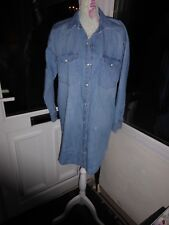 4a1614a6e4 NEW LOOK DENIM SHIRT DRESS SIZE 10