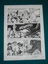 Giampiero Casertano Original Comic Art - Tavola # 10 Martin Mystere # 51 06/1986