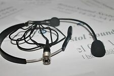 Chiayo MC72H  Headset microphone fitted with 4 pin HRS connector for transmitter