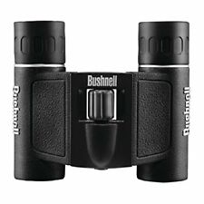 NEW Bushnell Powerview 10x25 Compact Folding Roof Prism Binocular Black