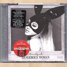 +6 BONUS TRACKS--> ARIANA GRANDE Dangerous Woman TARGET Exclusive CD Nicki Minaj