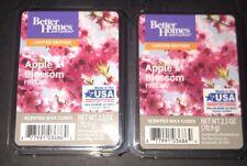 2  BETTER HOMES & GARDENS Wax Melts APPLE BLOSSOM FREESIA 2.5 Oz Each