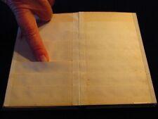 Vintage Calling Card Holder Unusual 3 34x5 34 Pocket Book Style Q3