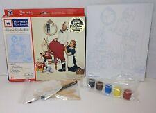 Norman Rockwell Home Studio 'Santa's Surprise' Home Studio Paint Kit Christmas