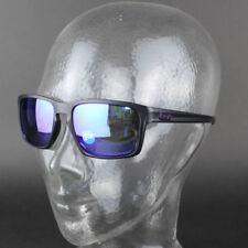 Occhiali da sole da uomo specchiamo viola neri