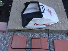 "Craftsman Grass Catcher Bag With Frame 21"" Front Drive Dust Blocker"