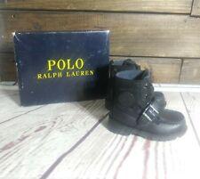 Polo Ralph Lauren Black Ranger Hi II Toddler Size 6
