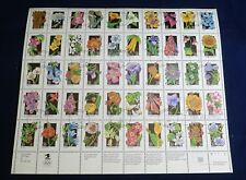 USA First Day Issue PRECANCEL Stamps Postage Sc #2647-2696 29¢ Wildflowers Sheet