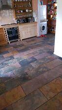 Sample '  multicolour '  Slate  Floor & Wall Tiles