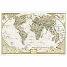 National geographic home dcor posters prints for sale ebay world map gumiabroncs Gallery