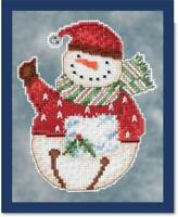 Mill Hill Counted Cross Stitch Kit - SNOWBELLS by DEBBIE MUMM - FLURRY