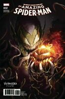 Amazing Spider-Man #32 Venomized Variant (2017) Marvel Comics