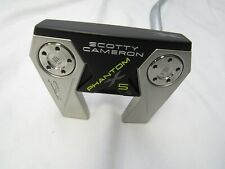 "Used RH Titleist Scotty Cameron Phantom X 5.5 34"" Putter +HC"
