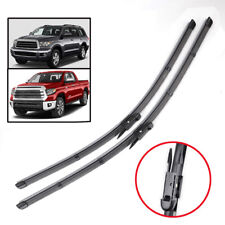 """2Pcs Front Windshield Wiper Blades Kit For Toyota Tundra Sequoia XK50/60 26""""23"""""""