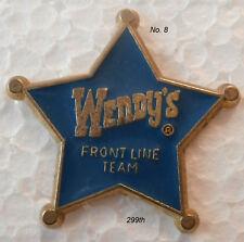 WENDY'S  Employee  Service Pin  #8