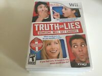 Truth or Lies (Nintendo Wii, 2010) Wii NEW!