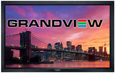 "Grandview Cyber Series 120"" inch Fixed Frame Projector Screen 16:9 Ratio"