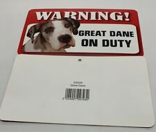 WARNING! POPULAR PET ON DUTY SIGNS Laminated & Plaques 20x12Cm 101 BREEDS PETS