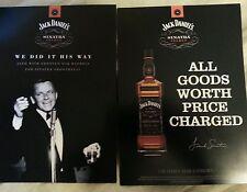 Frank sinatra/Jack Daniels postcards set of 5