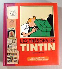 Les trésors de Tintin. 22 fac-similés rares Archives Hergé. MARICQ. 2013. NEUF